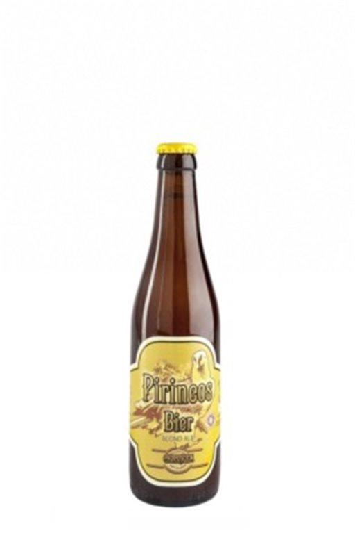 Cerveza Artesana Pirineos Bier Blond Ale 33cl, 1 ud