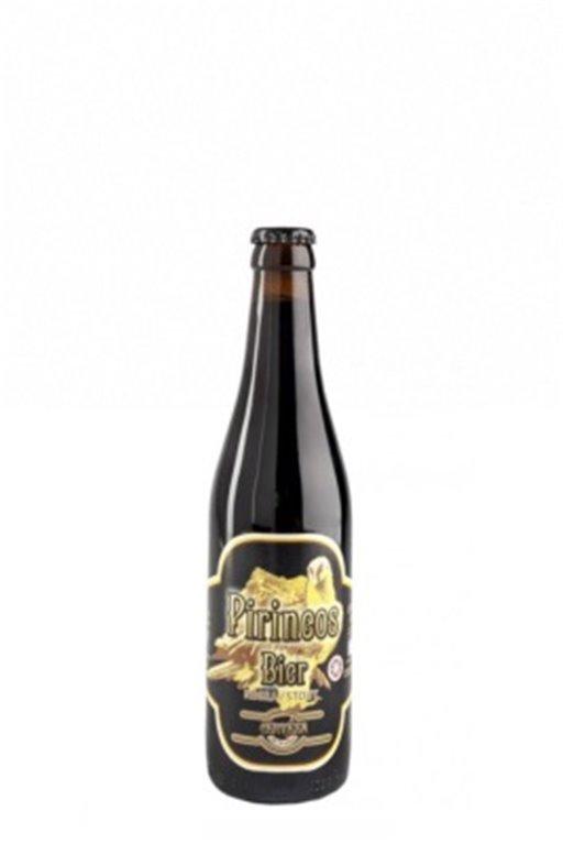 Cerveza Artesana Pirineos Bier Negra 33cl, 1 ud