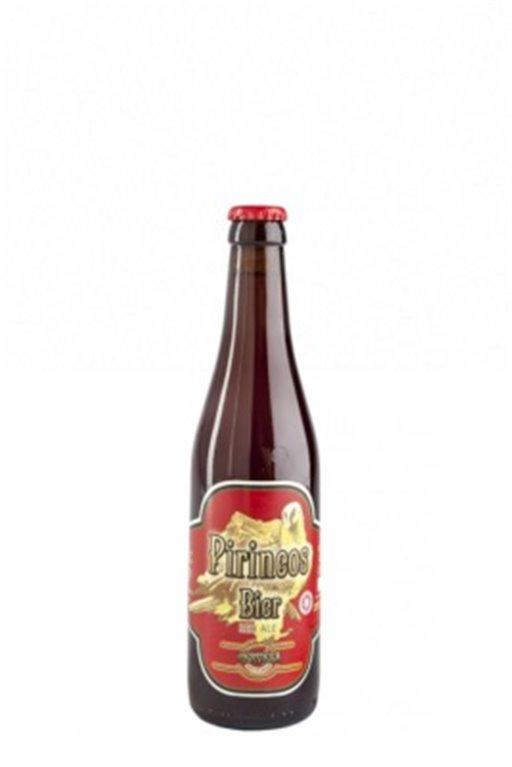 Cerveza Artesana Pirineos Bier Red Ale 33cl, 1 ud