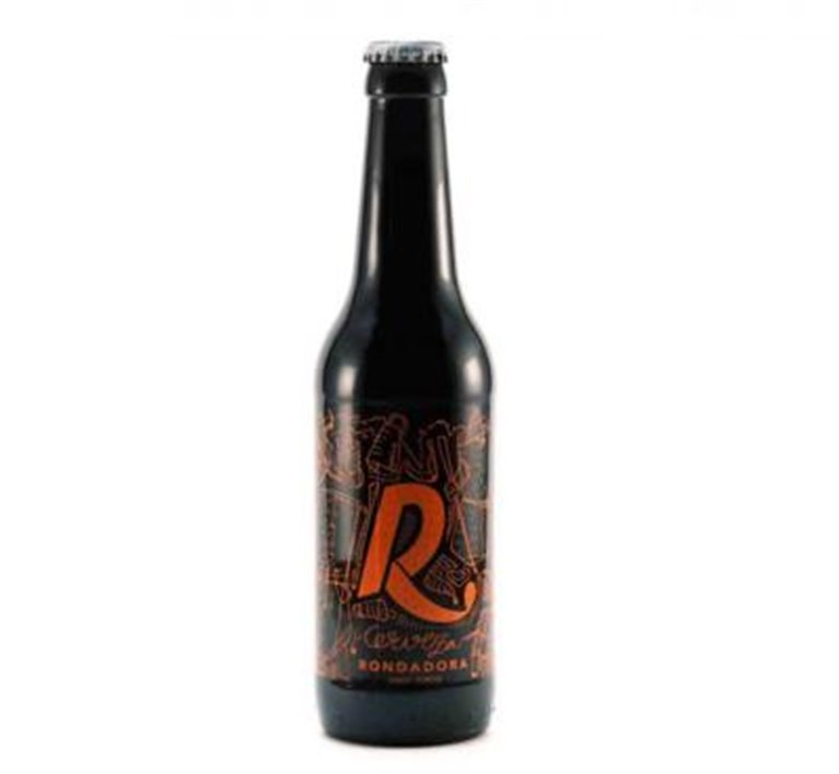 Cerveza Artesana Rondadora Porter-Onso 33cl, 1 ud