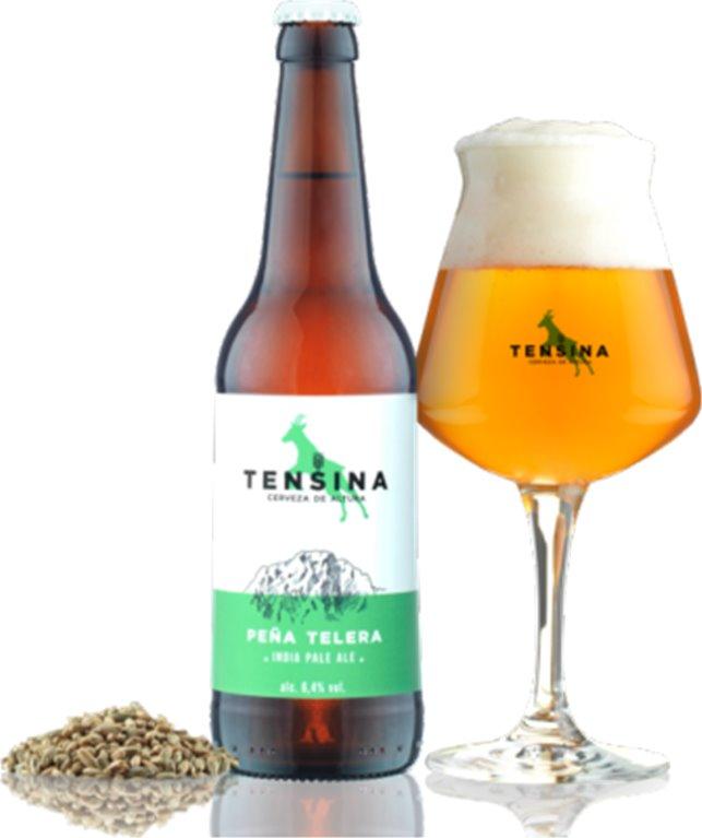 Cerveza artesana Tensina Peña Telera, 1 ud