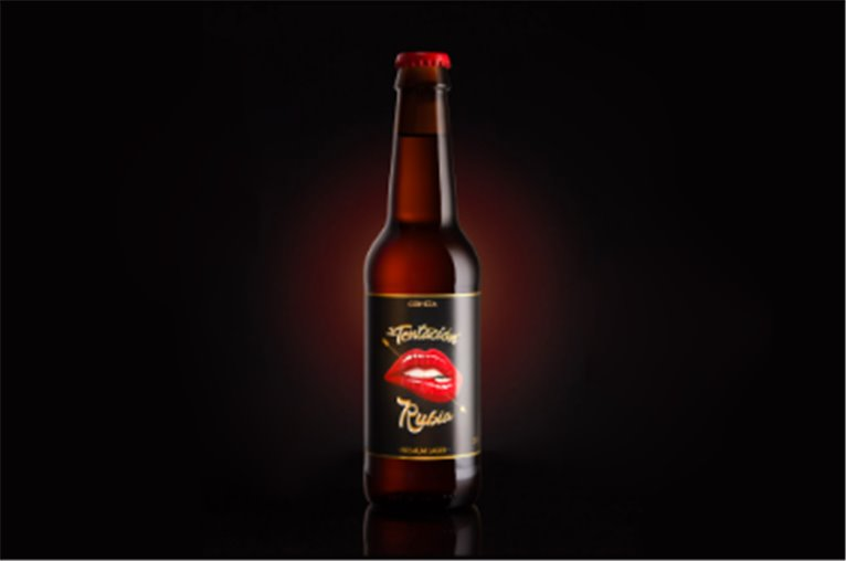Cerveza artesana Tentación Rubia (botella 33cl)