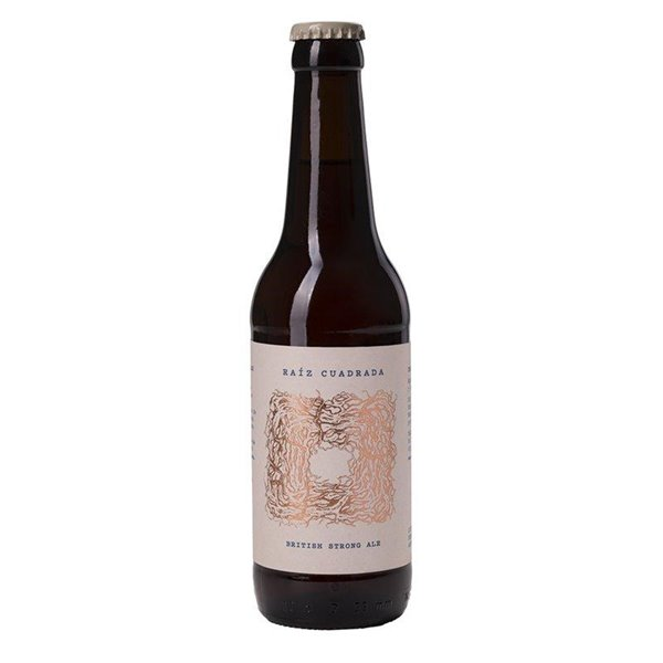 Cerveza artesanal british strong ale