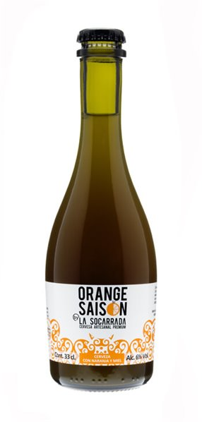 Cerveza Artesanal La Socarrada Orange Saison 33cl