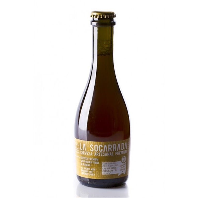 Cerveza Artesanal Premium La Socarrada 33 cl., 1 ud