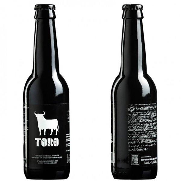 Cerveza Artesanal Premium Toro 33 cl.