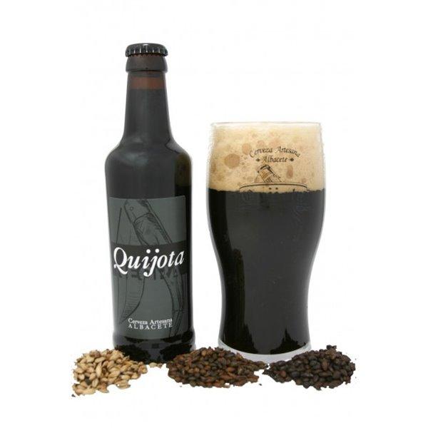 Cerveza Artesanal Quijota Negra 33 cl.