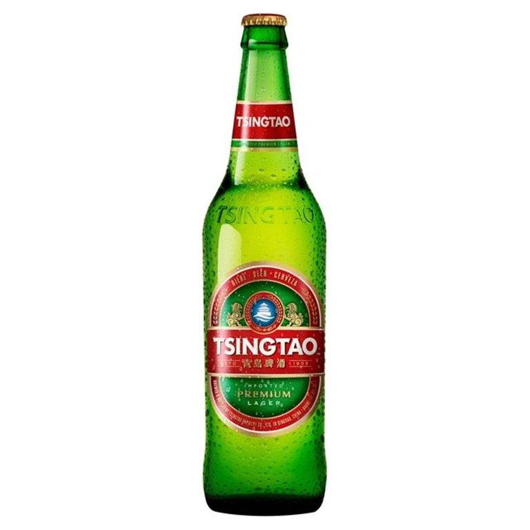 Cerveza China Tsingtao 4,7 Vol. 640ml, 1 ud
