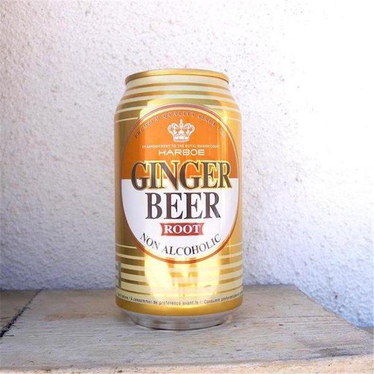 Cerveza de jengibre 33cl pack 12 latas, 1 ud