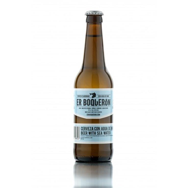 Cerveza Er Boquerón con agua de mar, 1 ud