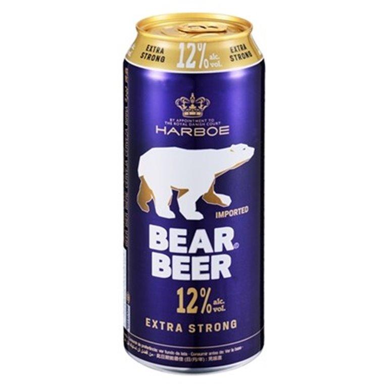 Cerveza extra Fuerte Bear 12,0% Vol. 24 x 500ml, 1 ud