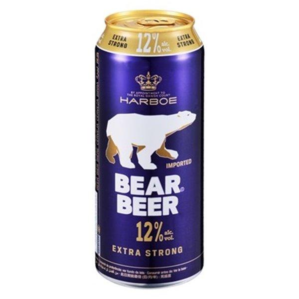 Cerveza Extra Fuerte Bear 12,0% Vol. 24 x 500ml
