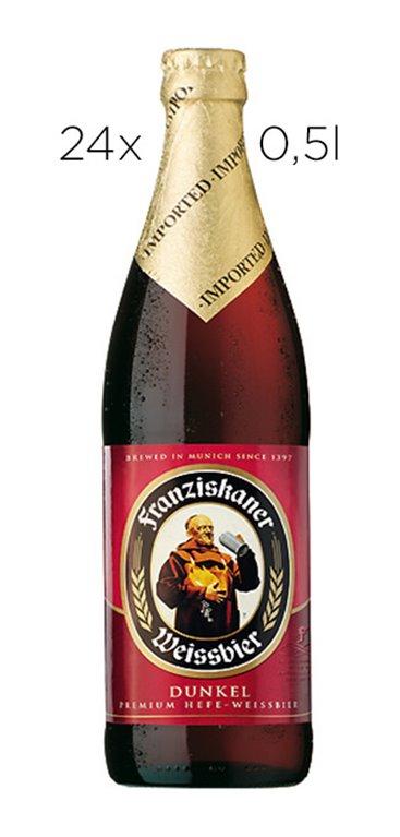 Cerveza Franziskaner Dunkel 0.5L