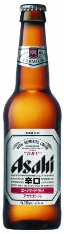 Cerveza Japonesa Asahi Superdry 5,0 Vol. 330ml, 1 ud