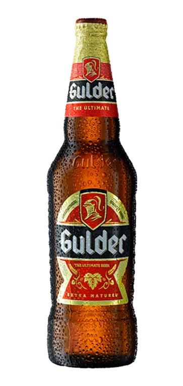 Cerveza Lager Gulder 5,2% Vol. 12 x 600ml, 1 ud
