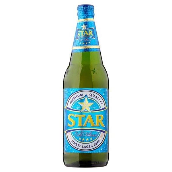 Cerveza Lager Star 5,1% Vol. 12 x 600ml