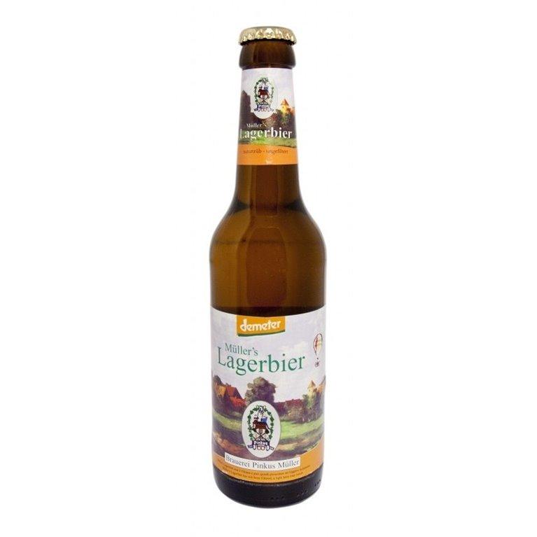 Cerveza Lagerbier Bio 4,6% Vol. 330ml