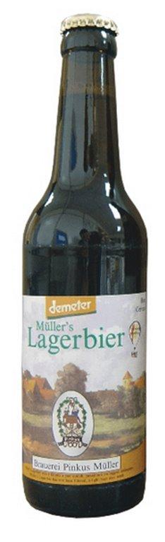 Cerveza Muller´s Larger