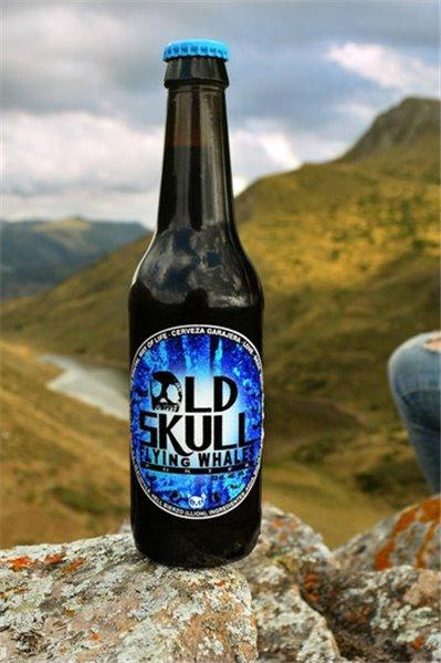 Cerveza Old Skull - Porter Ale. Caja 12 unidades 33cl. 5% alc.vol.