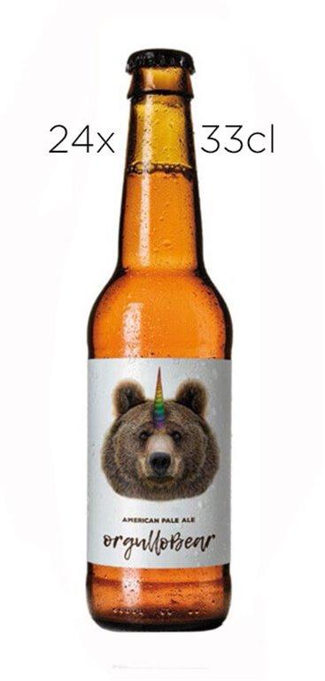 Cerveza OrgulloBear American Pale Ale