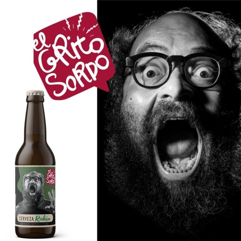 Cerveza RUBIA El Grito Sordo de Ignatius Farray