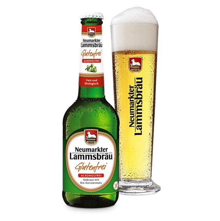 Cerveza Sin Gluten y Sin Alcohol Bio Lammsbrau 330ml