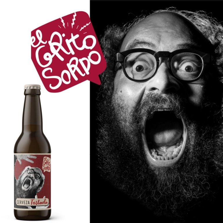 Cerveza Tostada El Grito Sordo de Ignatius Farray