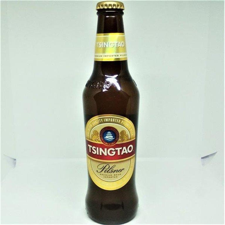 Cerveza Tsingtao Pilsner 33cl, 1 ud