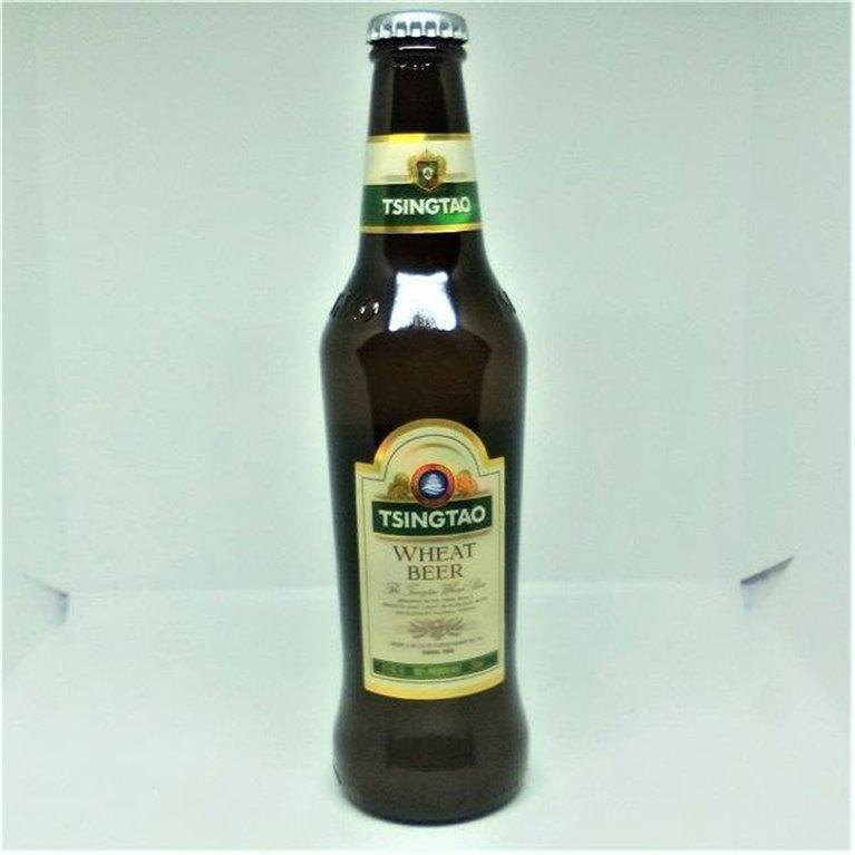 Cerveza Tsingtao Trigo 33cl, 1 ud