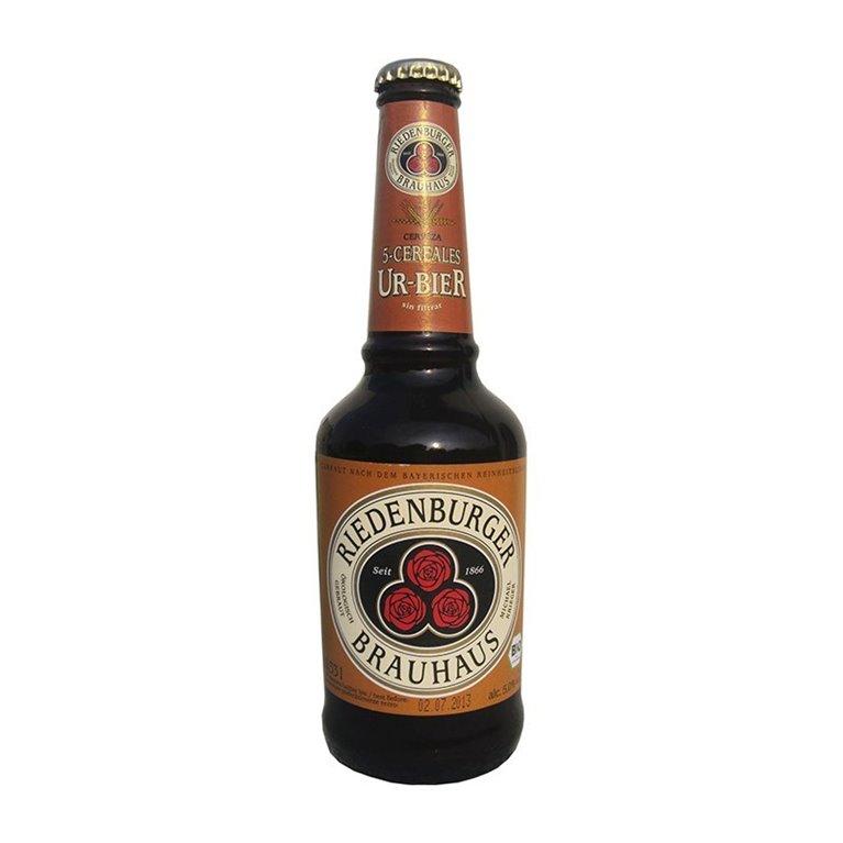 Cerveza Urbier 5 Cereales Bio 4,8% Vol. 330ml