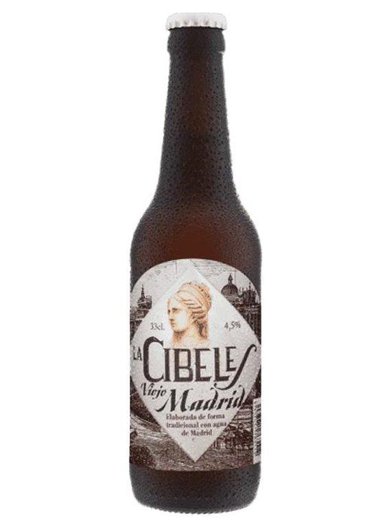 Cerveza Viejo Madrid La Cibeles