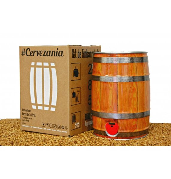 Cervezanía – Kit de embarrilado
