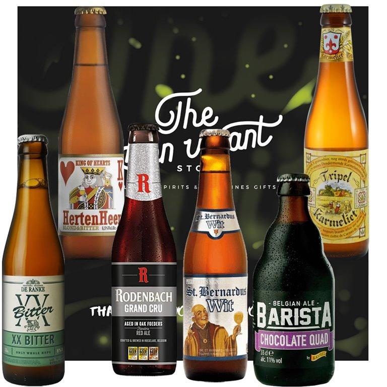 Cervezas Belgas Gift Box