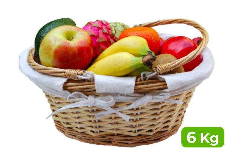 Cesta de fruta de regalo