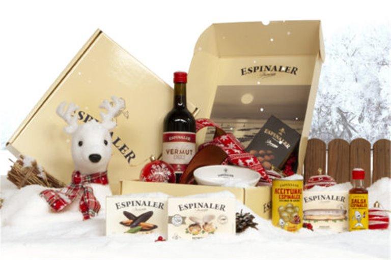 Cesta de Navidad Premium 100 en caja de cartón