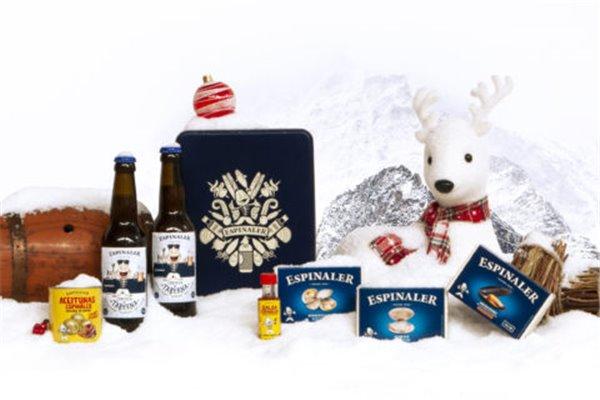 Cesto Navidad Cervezas 72 Espinaler