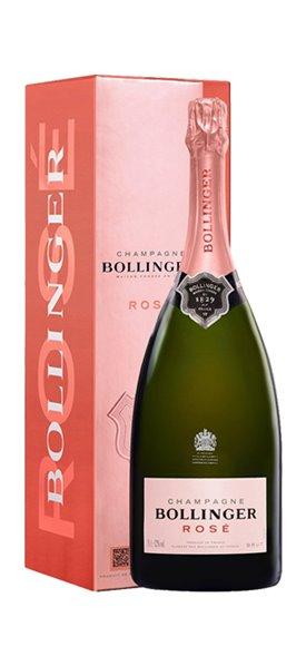 Champagne Bollinger Rosé Magnum con Estuche
