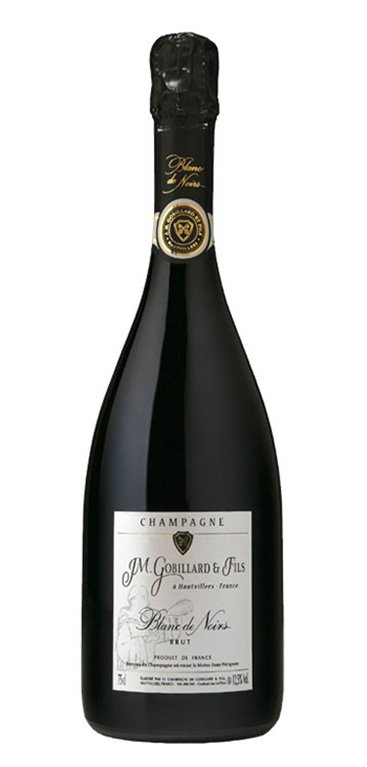 Champagne Brut Blanc de Noirs Gobillard