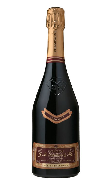 Champagne Cuvée Prestige Rosé Millésimée Gobillard 37.5cl