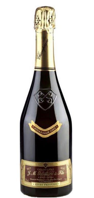 Champagne Cuvée Prestige Rosé Millésimée Gobillard