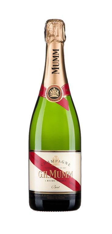 Champagne G.H. Mumm Cordon Rouge Brut