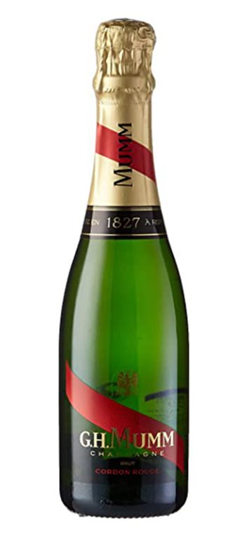 Champagne GH Mumm Cordon Rouge 375ml