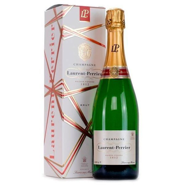 Champagne Laurent Perrier Brut + Estuche 0.75 L.