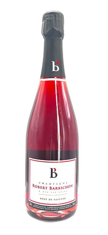 Champagne Robert Barbichon Rose de Saignée Brut