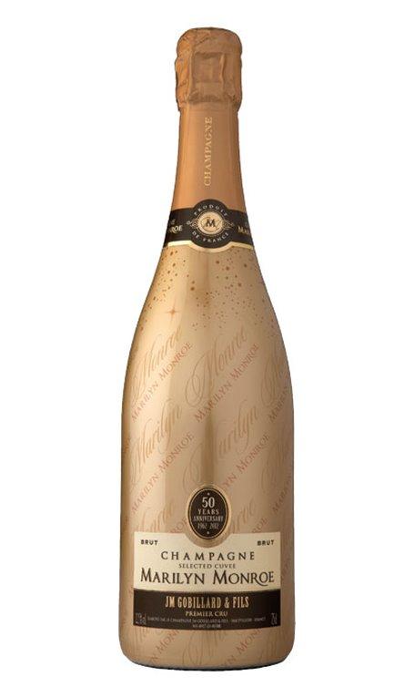 Champagne Selected Cuvée Marilyn Monroe Premier Cru Brut Gobillard