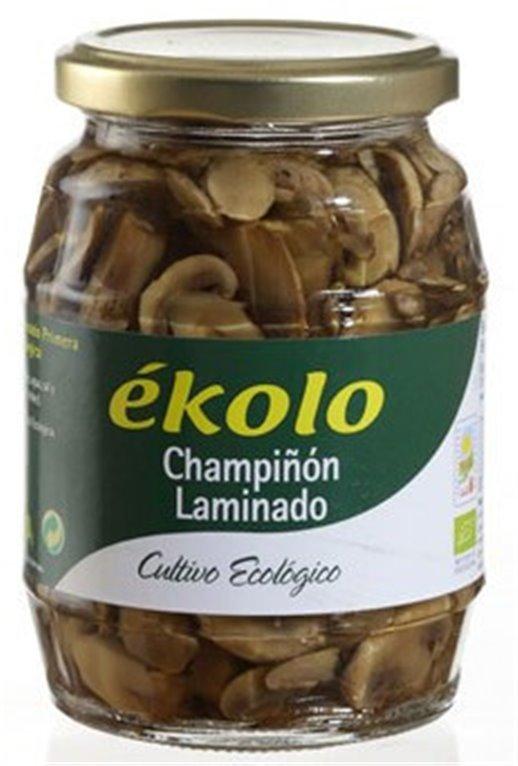 Champiñón laminado 350 g BIO - Ékolo