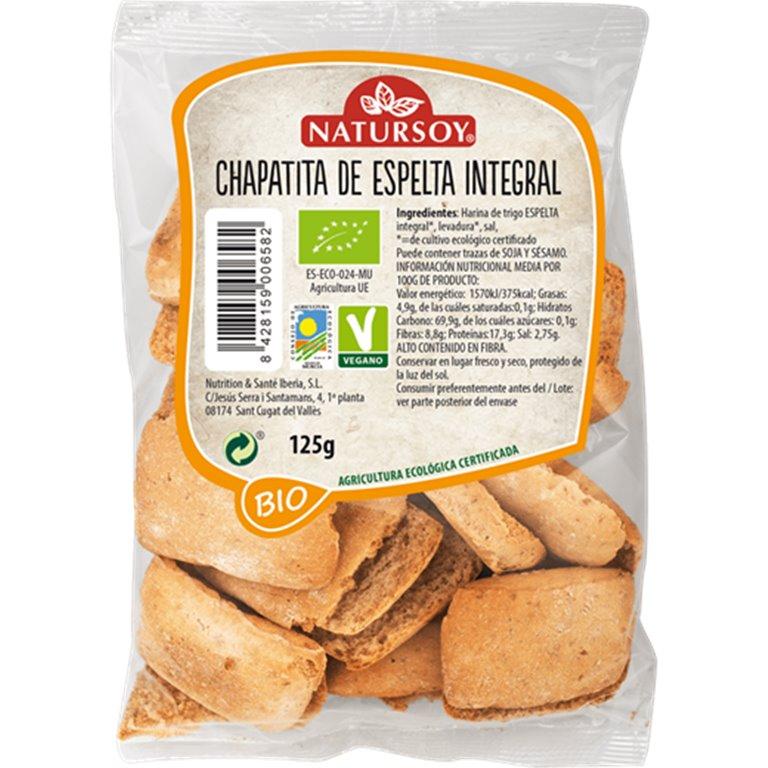 Chapatita de Espelta Integral Bio 125g