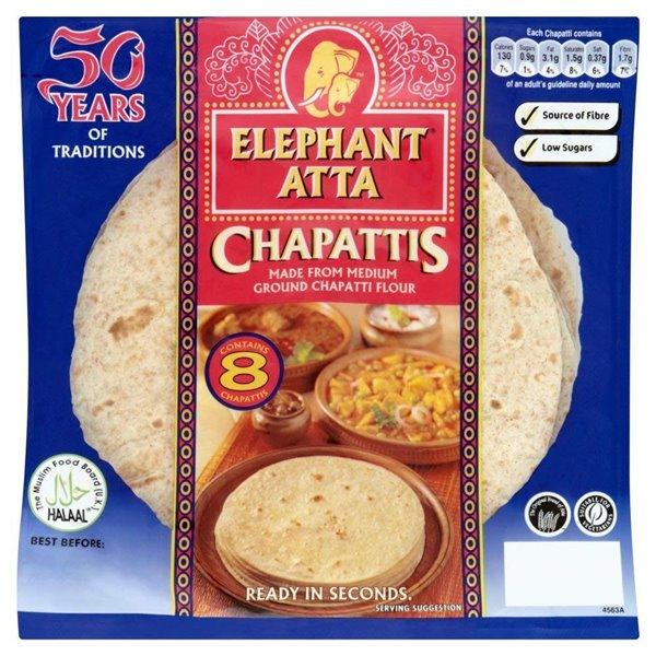 Chapattis Atta (Listos para Comer) 340g