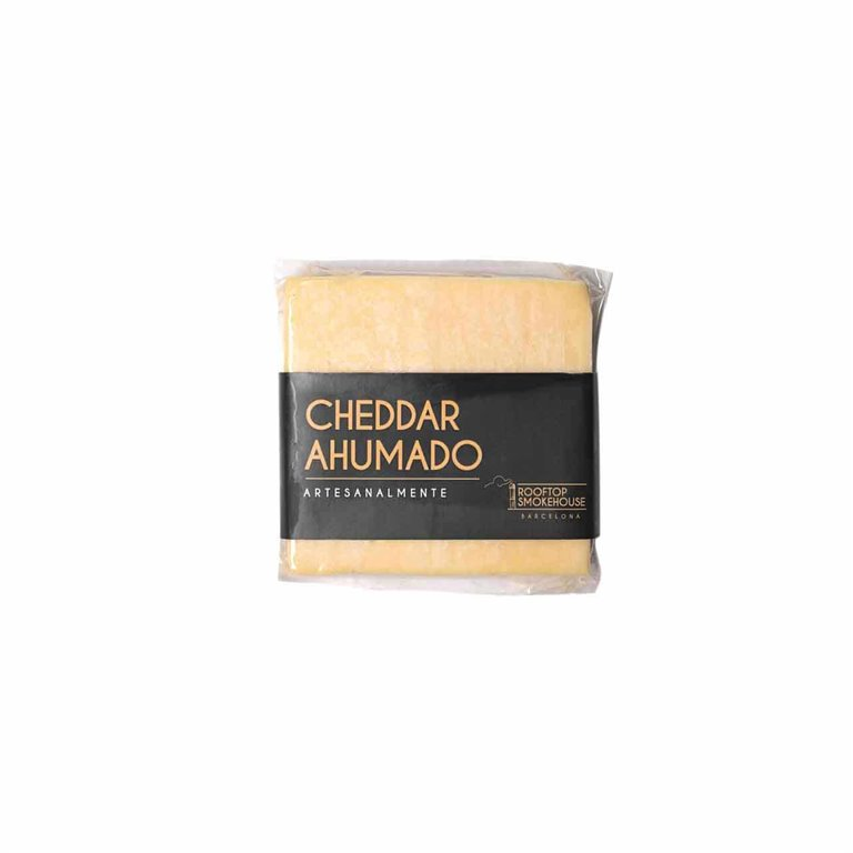 Smoked Vintage Cheddar, 200g Rooftop Smokehouse