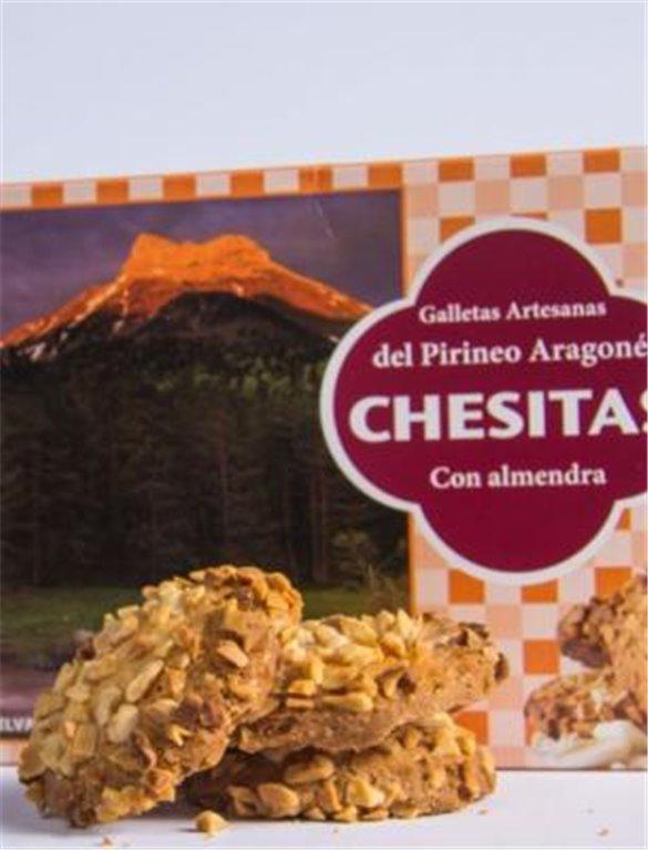 Chesitas galletas artesanas con almendra, 1 ud